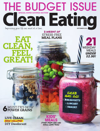 Clean Eating September 2014
