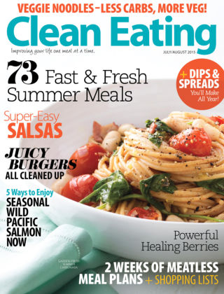 Clean Eating July / August 2015