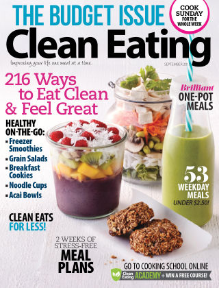 Clean Eating September 2015