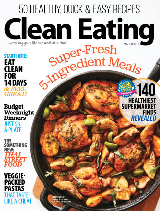 Clean Eating Mar 2016