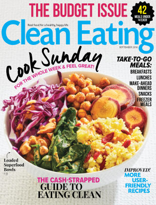 Clean Eating Sep 2016