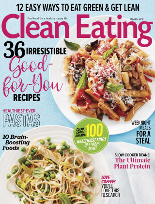 Clean Eating Mar 2017