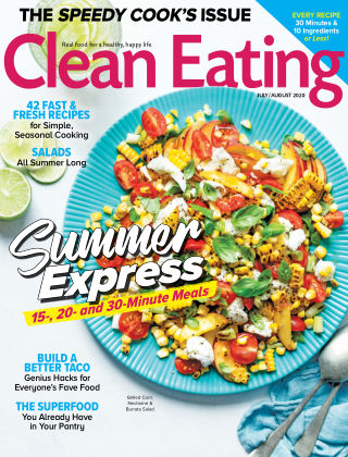 Clean Eating July August 2020