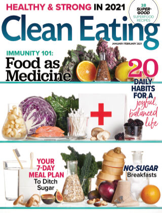 Clean Eating Jan Feb 2021