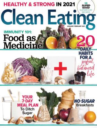 Clean Eating Jan Feb 2021