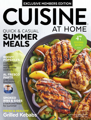 Cuisine at Home Jul-Aug 2018