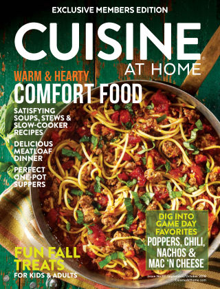 Cuisine at Home Sep-Oct 2018