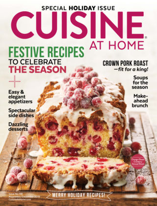 Cuisine at Home Nov-Dec 2019