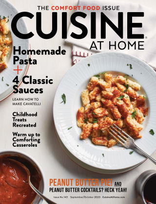 Cuisine at Home Sept Oct 2020