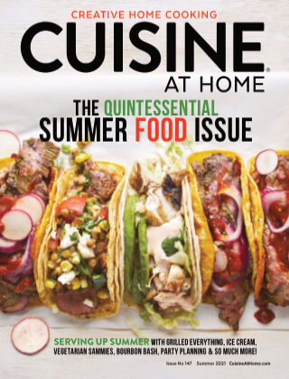 Cuisine at Home May - Aug 2021