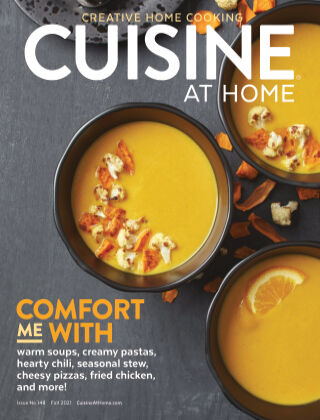 Cuisine at Home Fall 2021