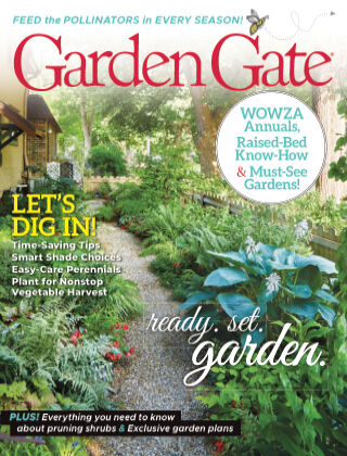 Garden Gate March April 2021
