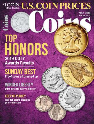 Coins May 2019