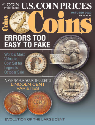 Coins October 2020