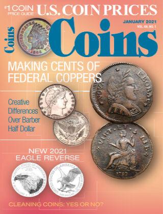 Coins January 1 2021