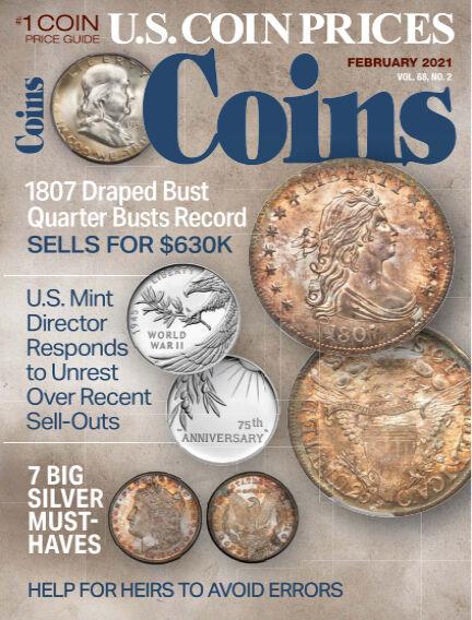 Coins December 21, 2020 00:00