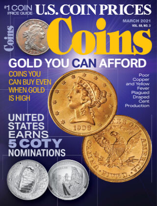 Coins March 1 2021