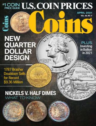 Coins April 2021