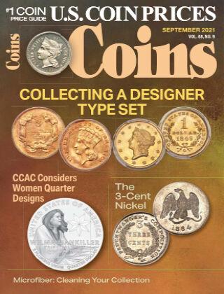 Coins September 1 2021