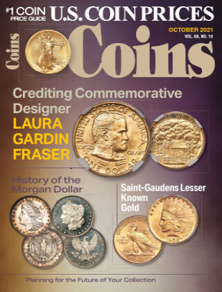Coins October 1 2021