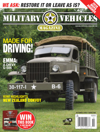 Military Vehicles Oct 2018