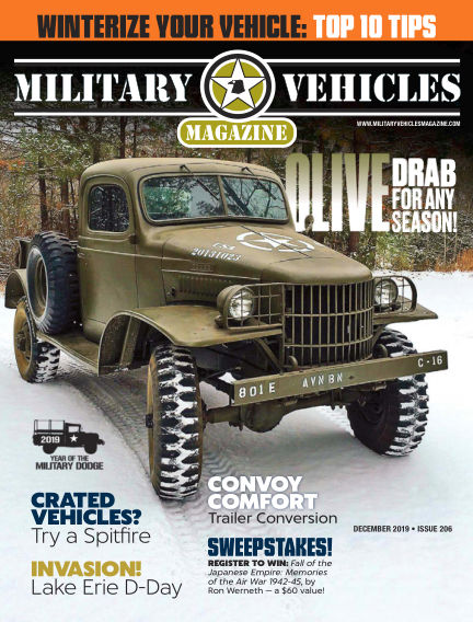 Military Vehicles October 01, 2019 00:00