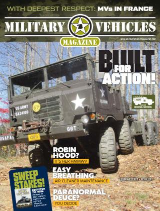 Military Vehicles Feb 2020