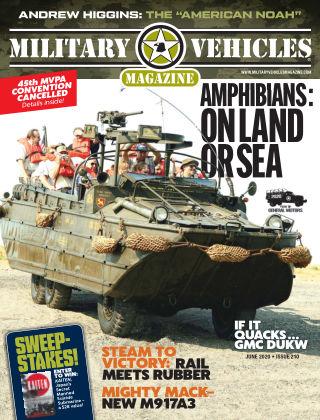 Military Vehicles June 2020