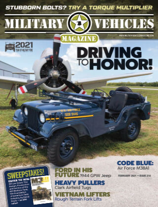 Military Vehicles February 1 2021