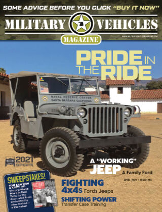 Military Vehicles MarchApril 2021