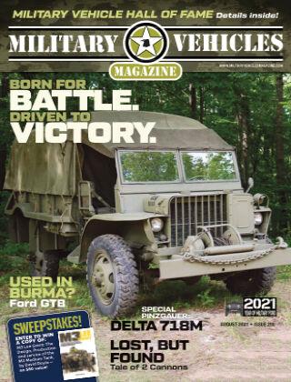 Military Vehicles JulyAug_2021