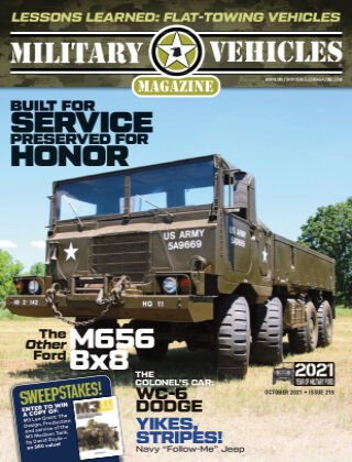 Military Vehicles October 1 2021