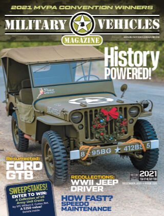 Military Vehicles December 2021