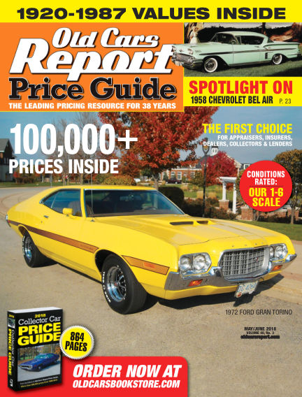 Old Cars Report Price Guide May 06, 2018 00:00