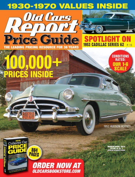 Old Cars Report Price Guide March 04, 2018 00:00