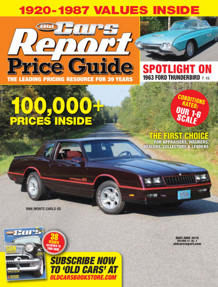 Old Cars Report Price Guide May 08, 2019 00:00