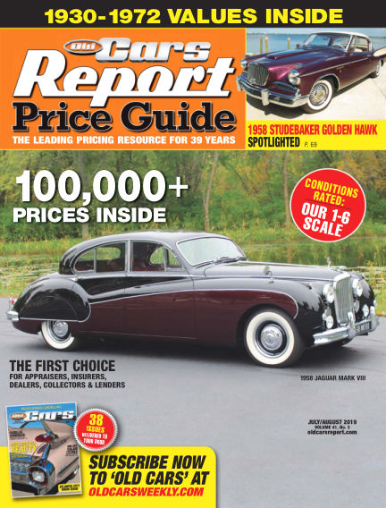 Old Cars Report Price Guide July 17, 2019 00:00