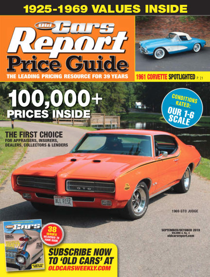 Old Cars Report Price Guide September 04, 2019 00:00