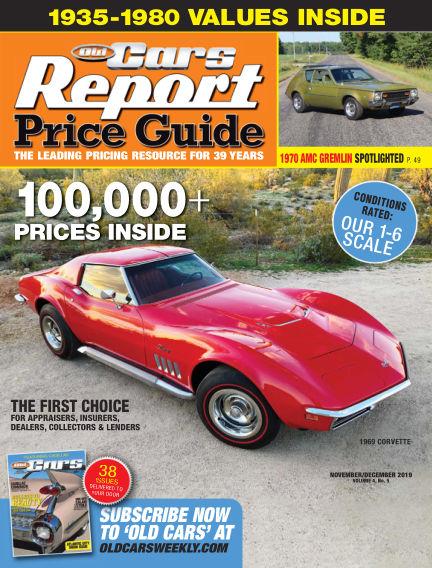 Old Cars Report Price Guide November 06, 2019 00:00