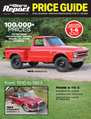 Old Cars Report Price Guide JanFeb 2021