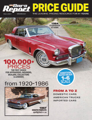 Old Cars Report Price Guide June 1 2021