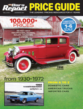 Old Cars Report Price Guide JulyAug 2021