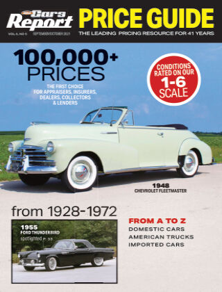 Old Cars Report Price Guide Sept-Oct 2021