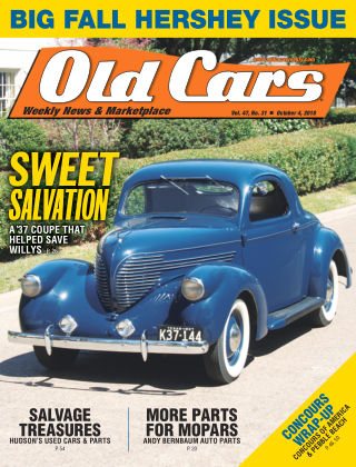 Old Cars Weekly Oct 4 2018