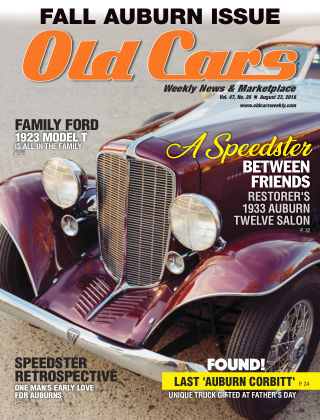 Old Cars Weekly Aug 23 2018