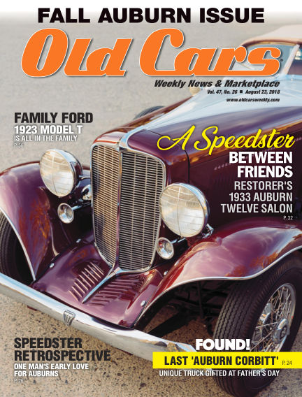 Old Cars Weekly August 15, 2018 00:00