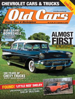 Old Cars Weekly Sep 27 2018