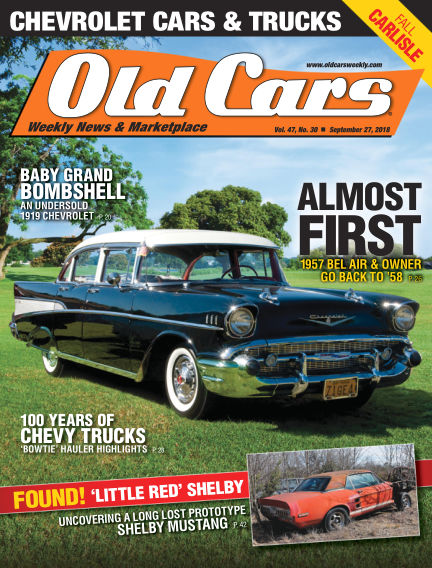 Old Cars Weekly September 18, 2018 00:00