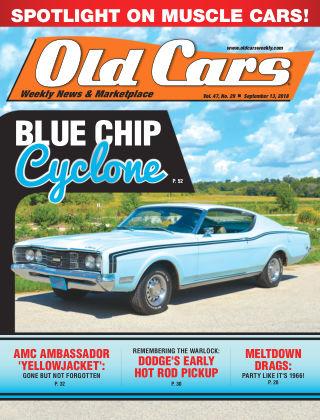 Old Cars Weekly Sep 13 2018