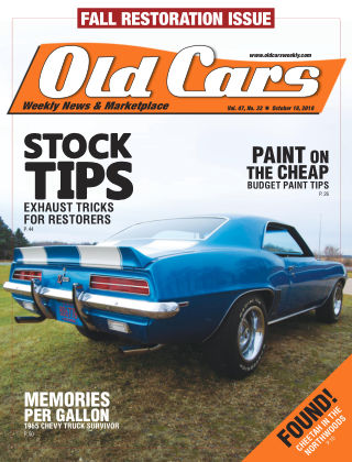 Old Cars Weekly Oct 18 2018